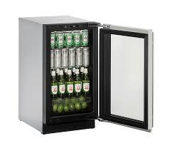 3018RGL 18 Glass Door Refrigerator