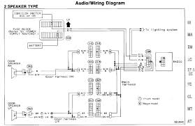 wiring diagram audio wiring diagram with 2 speaker type