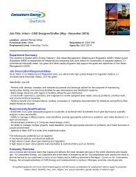 Electrical Cad Designer Jobs Job Title Intern Cad Designer Drafter May
