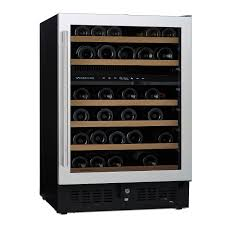 n'finity pro s dual zone wine cellar  wine enthusiast