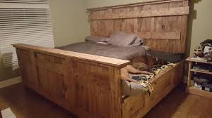 King Bedroom King Bed With Doggie Insert Dudeiwantthatcom