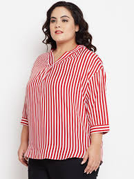 CARLENE CROSS BACK STRIPE BLOUSE - Oval - Shop by body shape - Fashion  Advice NuBella