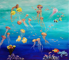 paintings under the sea