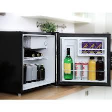 refrigerator table. cookology mfr45bk black table top mini fridge \u0026 ice box   46l bar refrigerator