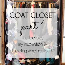 coat closet organization part 1