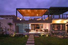 smart s house combines indoor and outdoor living spaces chic seasonal beach house in peru maximizes