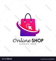 Logo Design Online Online Shop Logo Design Icon Shopping Logo Design