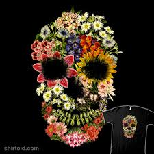 <b>Floral Skull Vintage</b> | Shirtoid