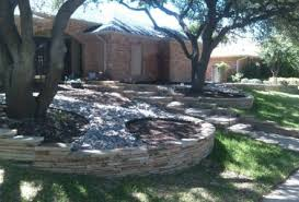 flagstone landscaping. Oklahoma Flagstone Stacked And Arizona River Rock Flagstone Landscaping