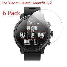 (<b>6 Pack)For Xiaomi</b> Huami Amazfit Stratos Sports Smartwatch 2 2S ...