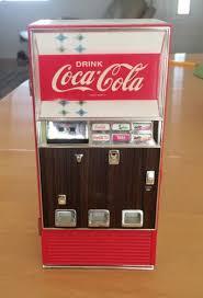 Vending Machine Piggy Bank Extraordinary 48 DIECAST COCA COLA MUSICAL VENDING MACHINE COIN BANK Antique