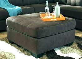 chocolate brown leather ottomans chocolate brown faux leather storage