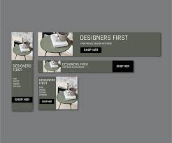 Designers First Webbanner Design For The Company Designers First On Behance