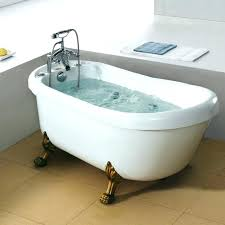 Jetted clawfoot tubs Bathtub Clawfoot Whirlpool Tub Whirlpool Tub Bathtubs Idea Small Bathtub Bronze Jetted With Built In Stainless Acrylic Clawfoot Whirlpool Tub Ferguson Showroom Clawfoot Whirlpool Tub Jetted Slipper Tub Spa Clawfoot Tub Idiagnosis