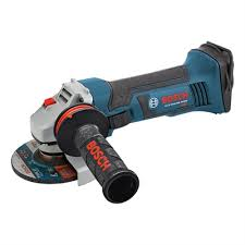 cordless grinder. bosch gws18v-45 4 1/2-in 18-volt lithium-ion cordless angle grinder (tool only) | lowe\u0027s canada