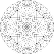 Small Picture Mandala Coloring Pictures Printable Coloring Pages Ideas