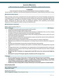 Information Technology Manager Resume Information Technology