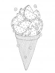 One of a kid's favorite foods is ice cream. Cute Ice Cream Coloring Pages 101 Coloring
