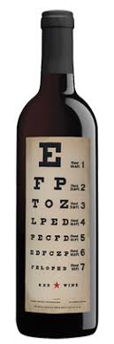 Wine With Eye Chart Label Wine With Eye Chart Label Best Picture Of Chart Anyimage Org