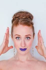 how you can pull off a blue lip how to be a redhead lt a