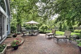 Heavenly Concrete Patio Design Layouts also Wrought Iron Garden