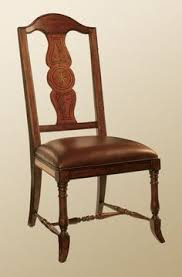 hand painted chair back