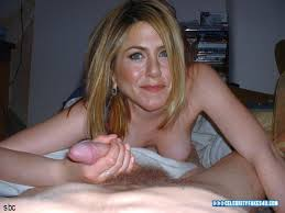 Jennifer aniston fake handjob