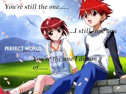 sweet couple anime wallpapers wallpaper cave