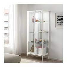 ikea glass cabinet