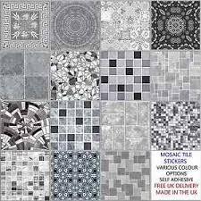 mosaic tile designs. Fine Designs Image Is Loading GreyMosaicTileStickersTransfersKitchenBathroom6 With Mosaic Tile Designs O