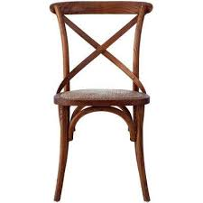 hyde cane wood dining chair set of 2