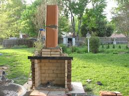 Of Outdoor Fireplaces Plain Design Outdoor Fireplace With Chimney Patio Building Repair