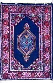 purple oriental rug blue and red rugs regarding prepare pink dark runner area bath hand knotted purple oriental rug