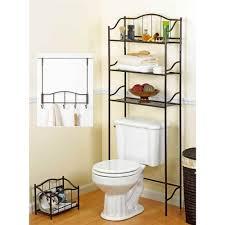 Over The Toilet Bathroom Shelves Best Bathroom Space Saver Over The Toilet Storage Racks Reviews