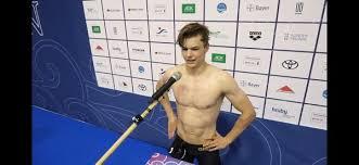 Hier der in der öffentlichkeit schüchtern wirkende engel. Taliso Engel Schwimmt 2 X Weltrekord An Einem Tag