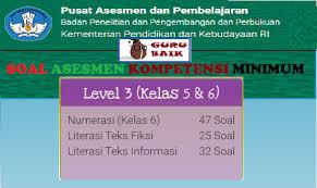 Apakah kalian sudah kenal pisa dan timss? Contoh Soal Latihan Akm Level 3 Kelas 5 Dan 6 Guru Baik