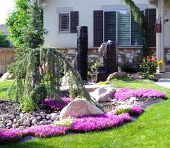 Low Maintenance Front Lawn Landscaping Ideas Garden Design Contemporary  Beautiful Low