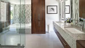 luxury contemporary master bathrooms. Exellent Bathrooms Glass Mosaics Contribute To Luxurious Master Bath Design And Luxury Contemporary Master Bathrooms O