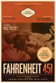 fahrenheit 451 françois truffaut 1966 poster artfilm postersfahrenheit 451alternative posters nightsbook jacketvine