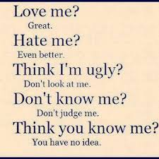 Love Me Or Hate Me Quotes Gorgeous Love Me Quotes And Hate Me Quotes