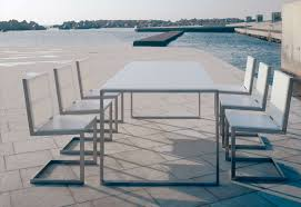 Aluminum Outdoor Dining Table Outdoor Dining Table Gustitosmios