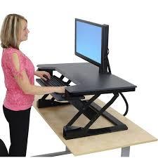 standing desk desktop back pain and adjule desks 4