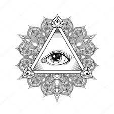 тату глаз в треугольнике эскизы татуировка треугольник значение