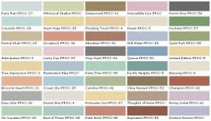 Behr Paint Colors Chart To Decide A Paint Color For Our Walls Or A Trim Color To