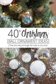 40+ Christmas Ball Ornament Ideas For You to Try This Year! (Plus Free