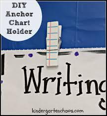 Anchor Chart Holder Diy Diy Anchor Chart Holder Kindergarten Chaos