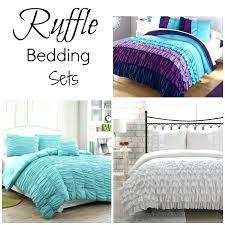 grey ruffle bedding ruffle dark gray ruffle bedding