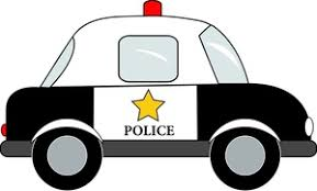police car clipart black and white. Contemporary White Cartoon Police Car Clipart 1 For Black And White C