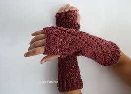 Crochet Hand Warmers Pattern