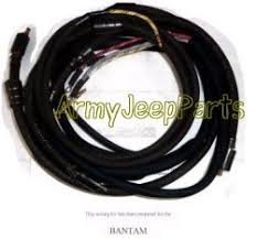 mb gpw and mb gpw parts for bantam trailer wiring harness kit mb gpw bantam trailer wiring harness kit